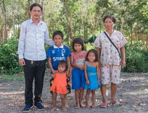 Piseth with family