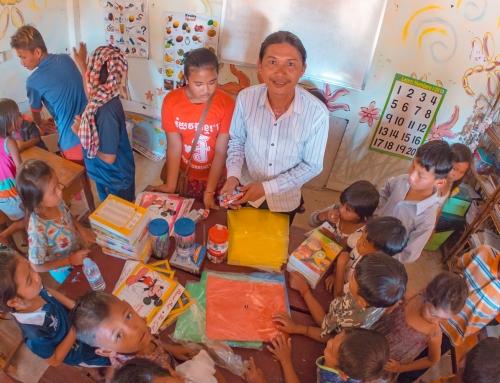 Children enrolling