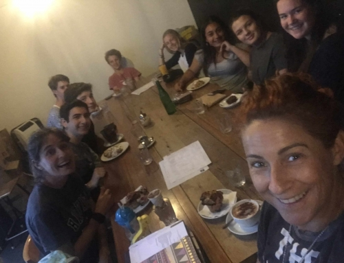 Rise and Shine brunch: youth volunteers plan a big 2018