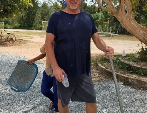 Transformation of the Shine grounds – Thank you Bryan